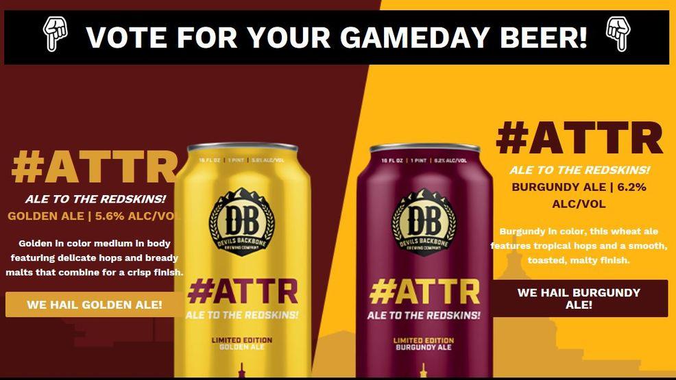 Beer - Redskins - NFL - Sports