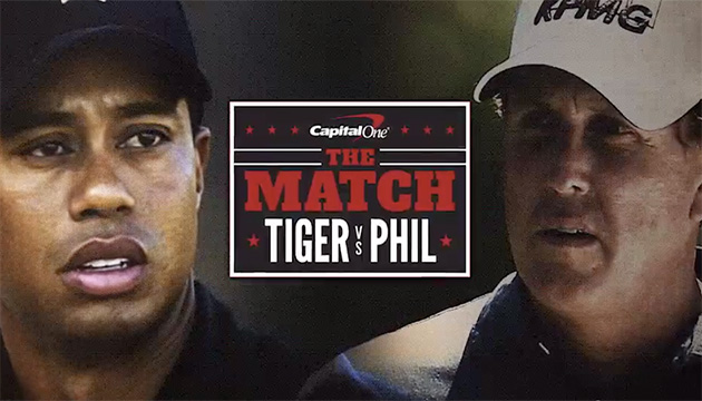 Tiger Woods - Phil Mickelson - The Match