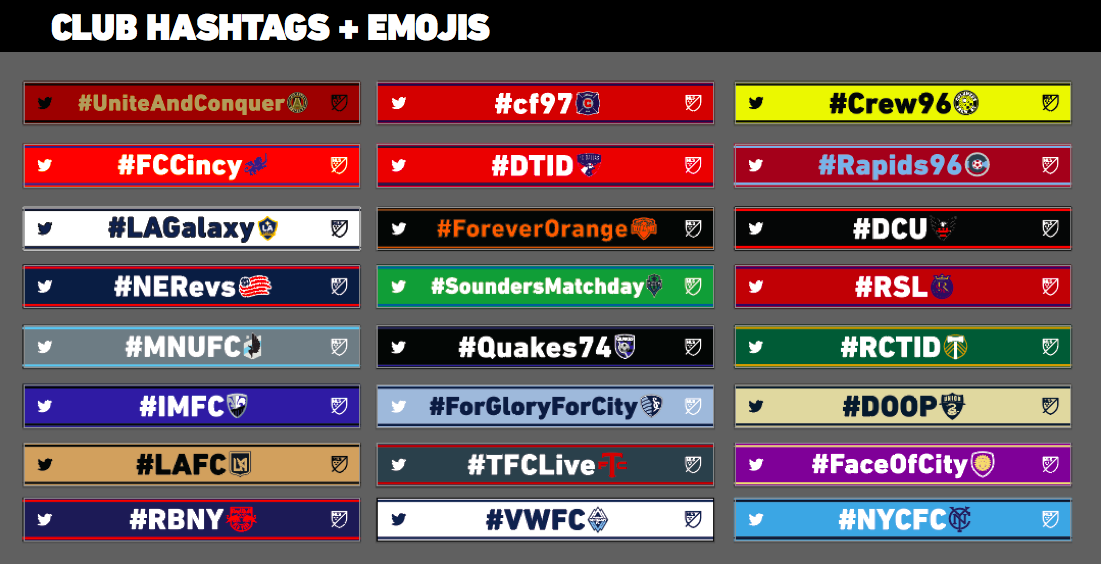 MLS Hashtag Scarves