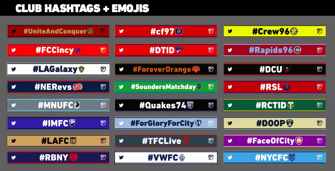 MLS Hashtag Scarves