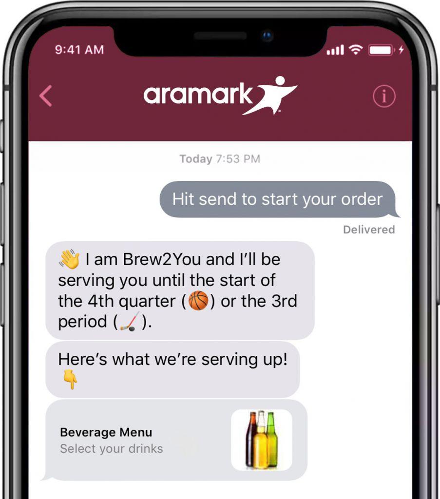 Cavs Aramark Ordering