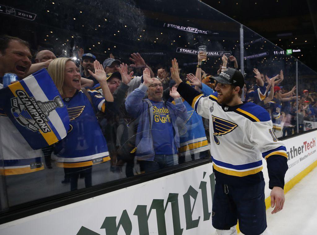 St. Louis Blues Predictive Gaming