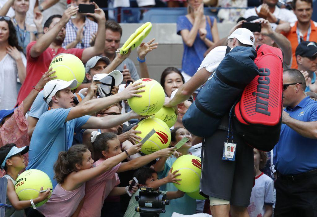 U.S. Open tennis fan experience