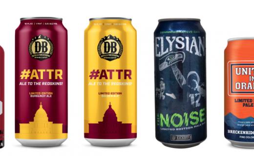 AB NFL beers