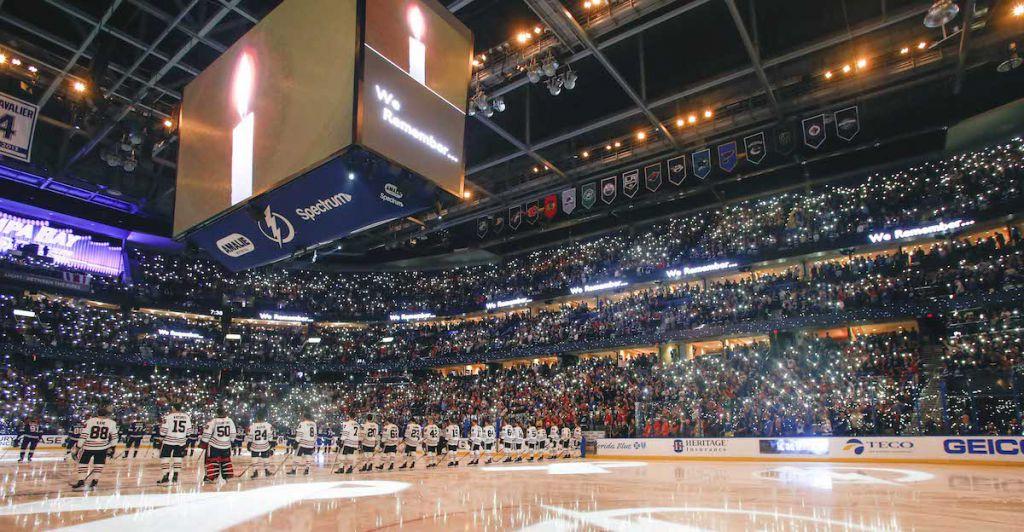 Amalie Arena upgrades