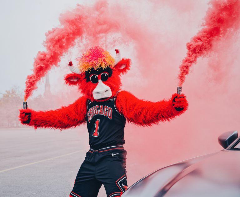 How The Chicago Bulls' Benny The Bull Inspired A TikTok Movement