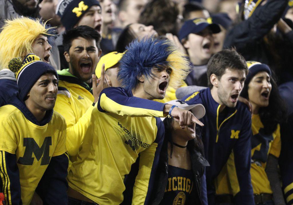 Michigan stadium fans