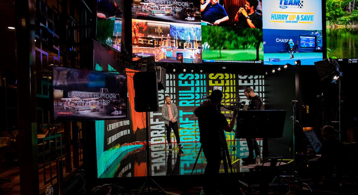 B/R Betting Game Show Set To Be Cornerstone of Caesars Palace Studio