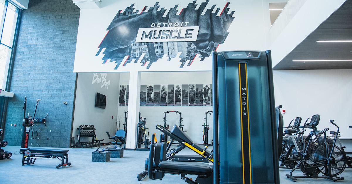 Detroit Practice Facility
