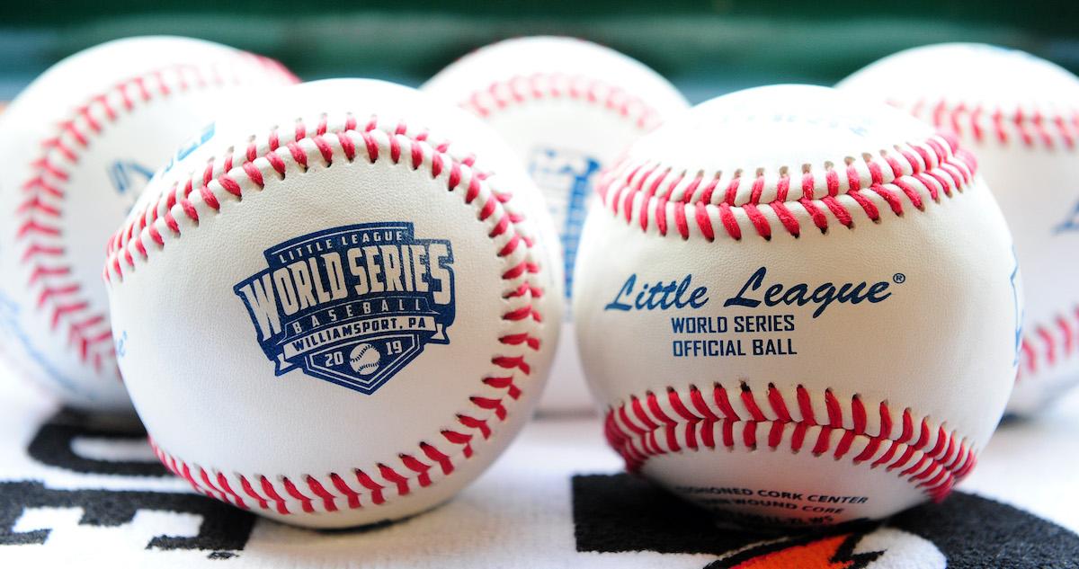 Little League baseballs