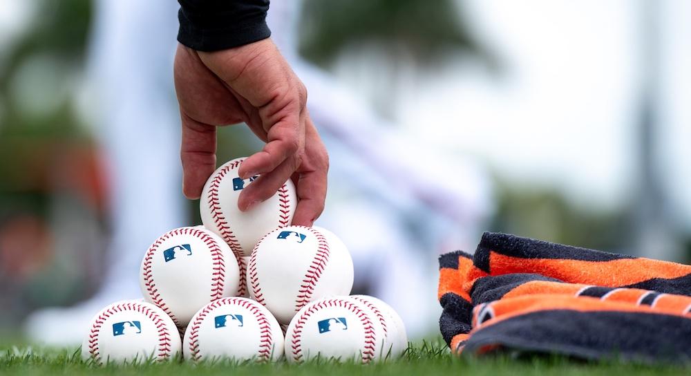 MLB balls