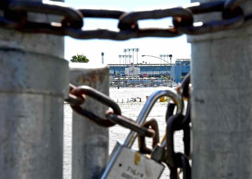 Dodger Stadium gate
