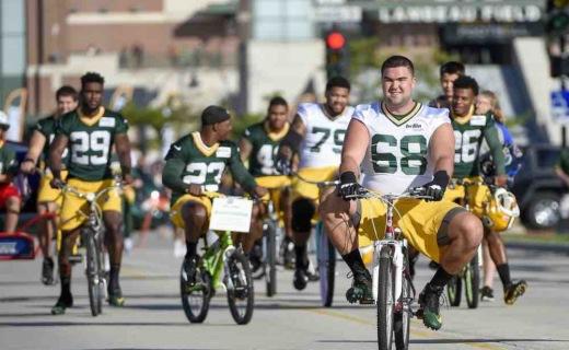 Packers bikes