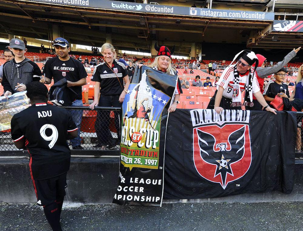 Freddy Adu D.C. United