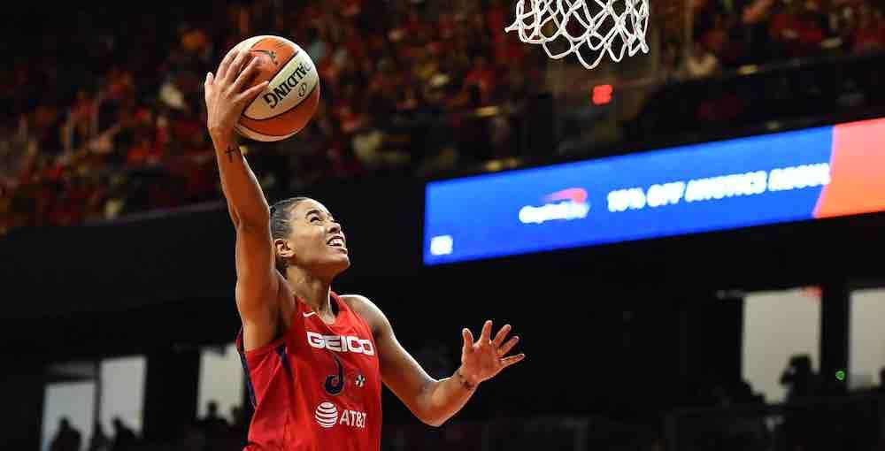 WNBA layup