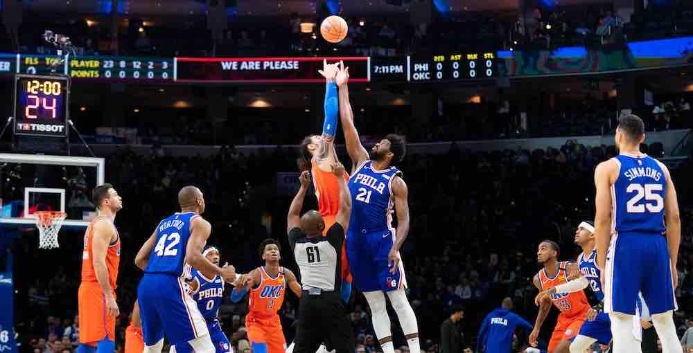 NBA tipoff