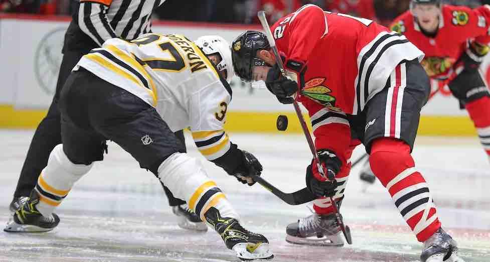 Bruins Blackhawks