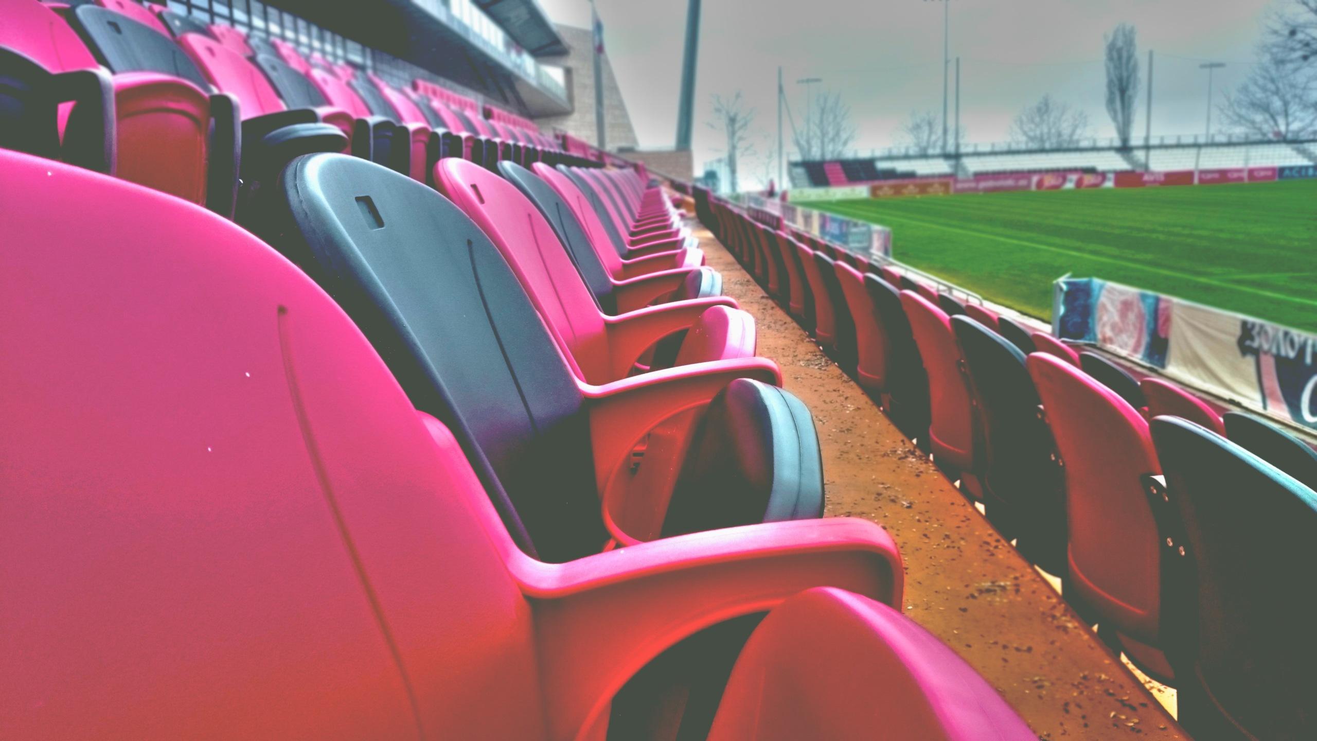 empty seats at a stadium; live venue sports shift