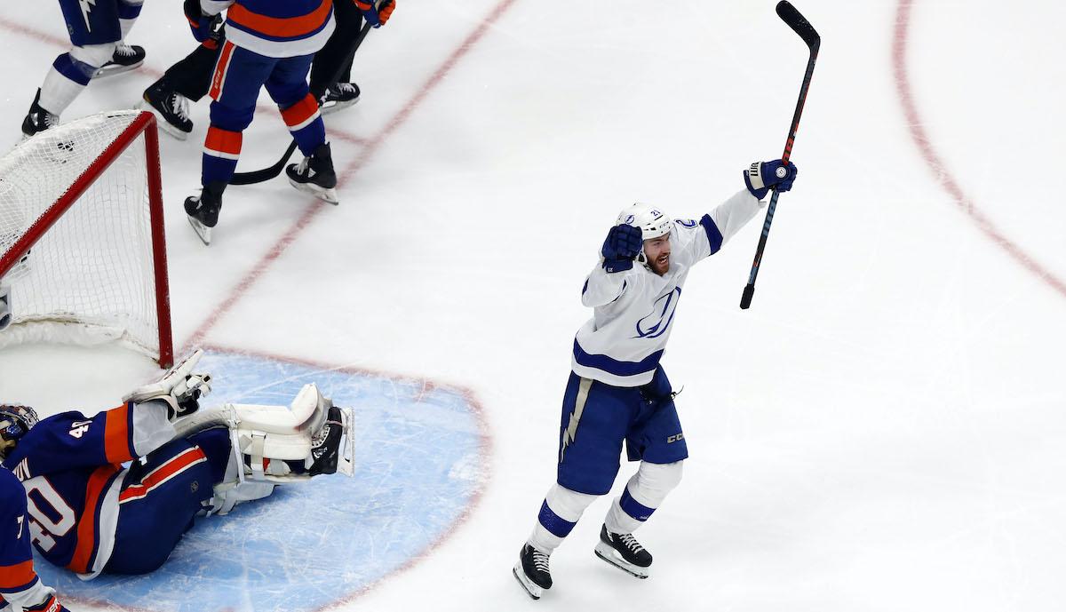 Hockey celebration