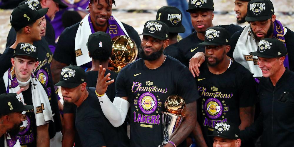 LA Lakers Champs 2020