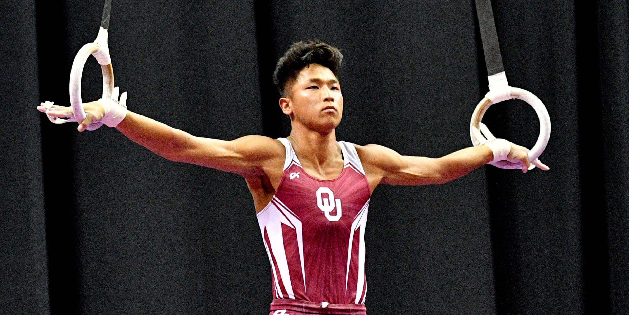 Oklahoma gymnast