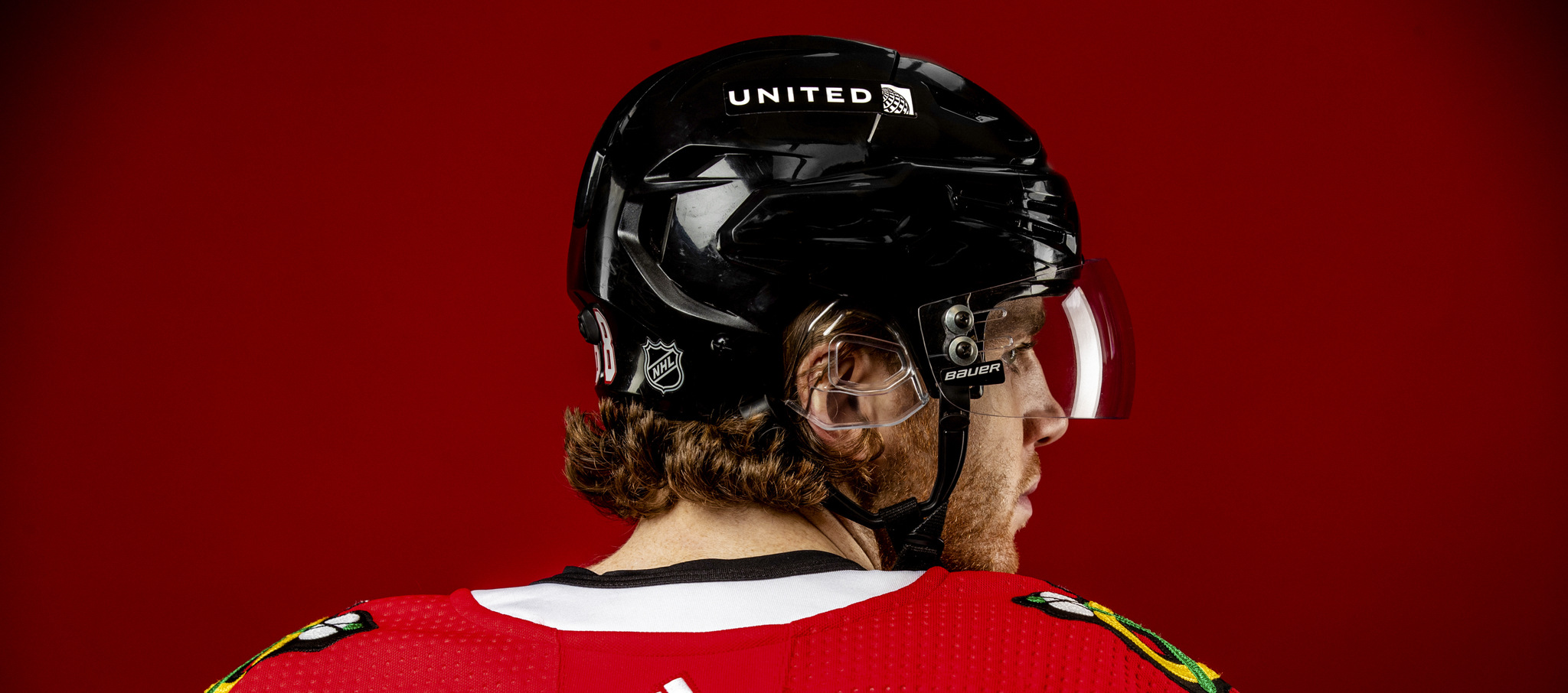 The Chicago Blackhawks have joined a growing list of NHL teams that will feature advertising on players' helmets this season.