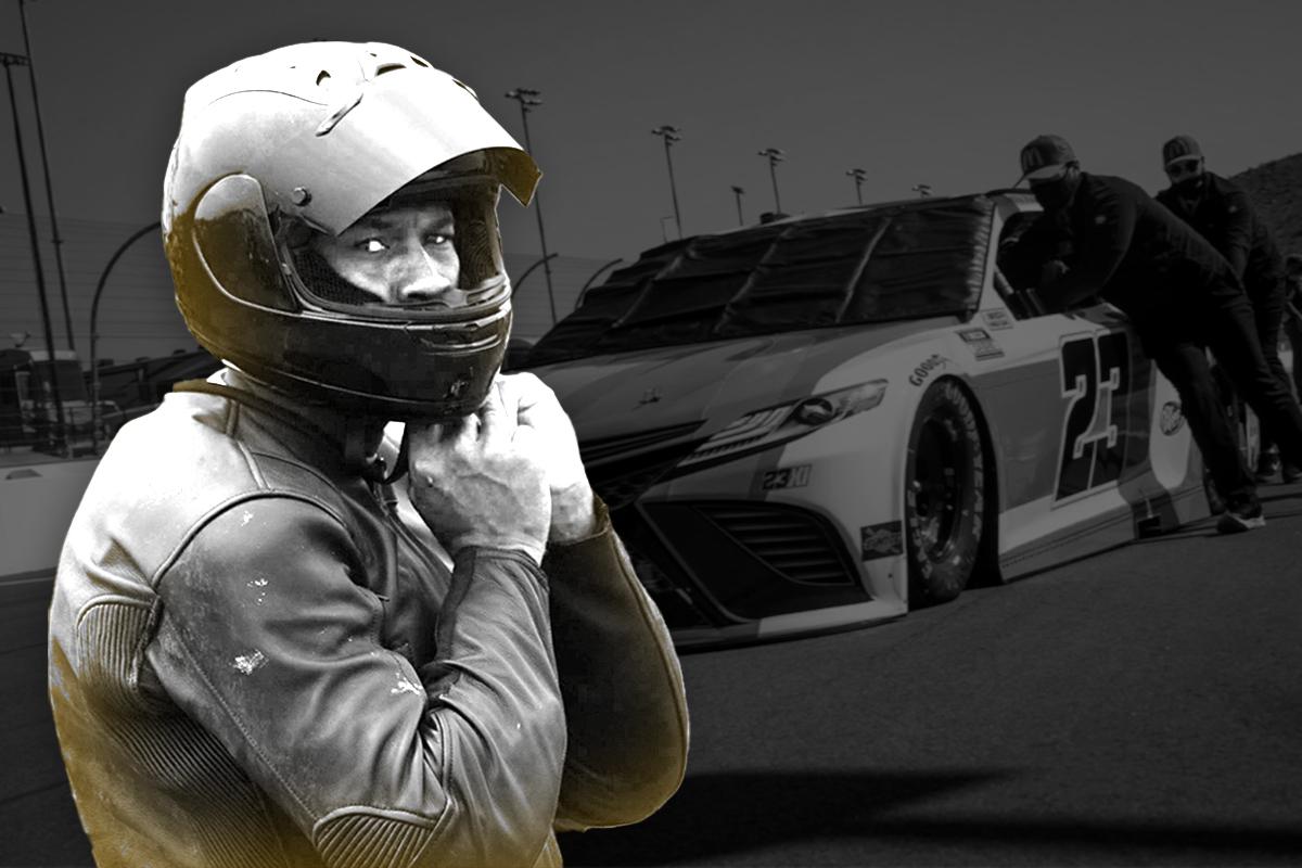 Jordan's 'Bright' Future With NASCAR