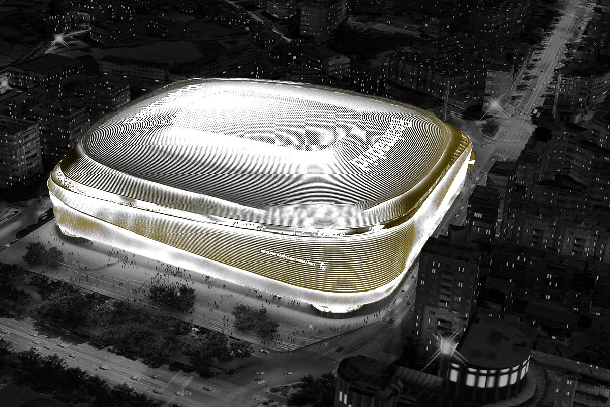 El Real Madrid está construyendo un casino en el nuevo estadio Santiago Bernabéu.